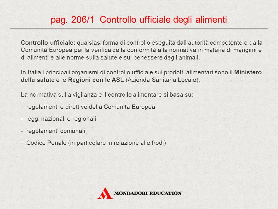 Controllo ufficiale: qualsiasi forma di controllo eseguita dall'autorità competente o dalla Comunità Europea per la verifica della conformità alla nor