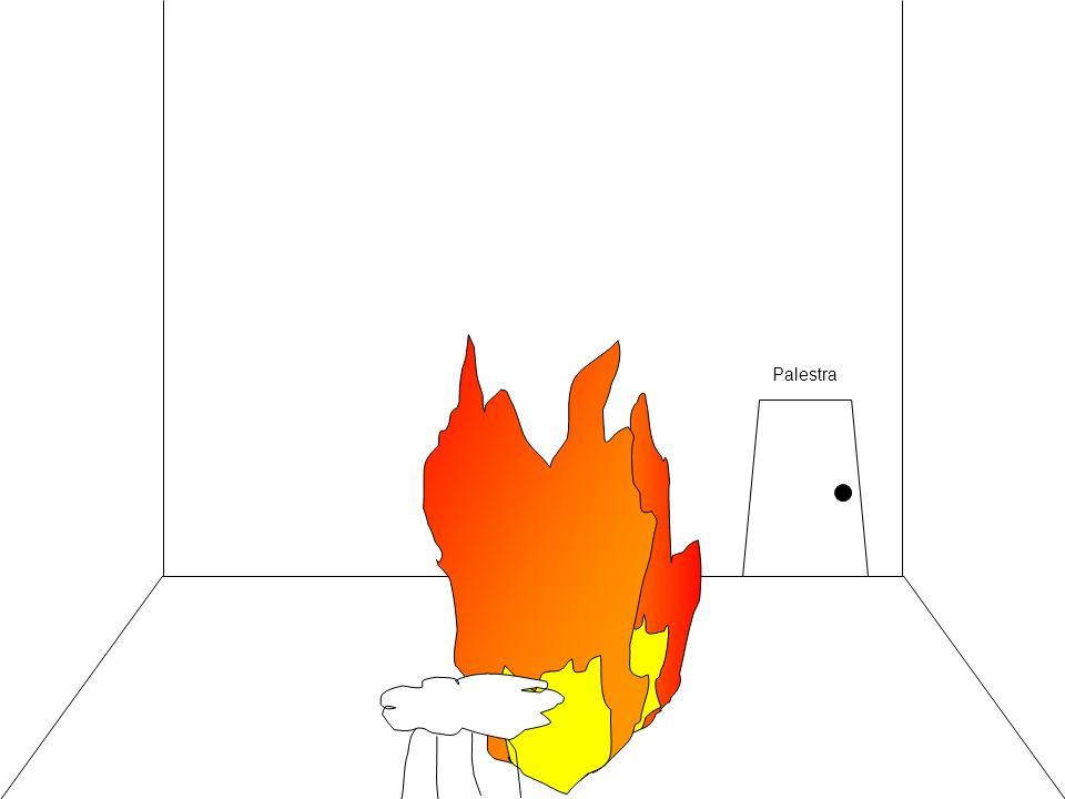 Palestra Devo spegnere le fiamme una alla volta