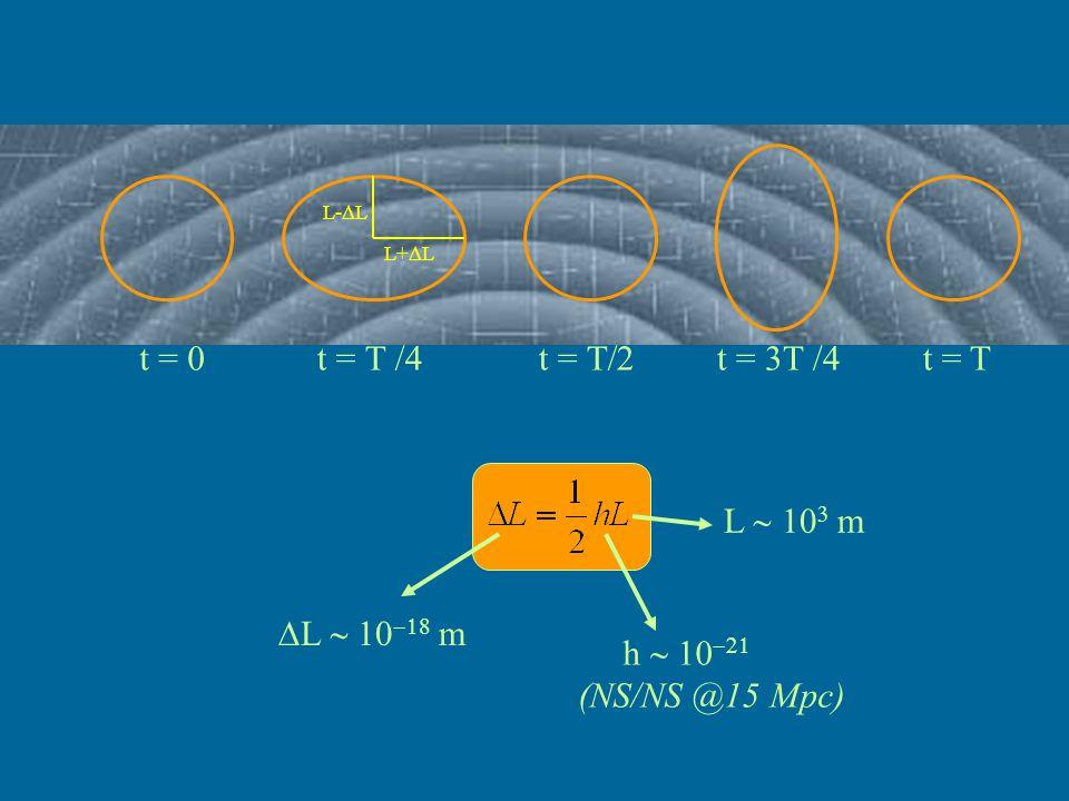 1) VIRGO ed i Rivelatori Interferometrici Terrestri 2) LISA e l'interforemetria spaziale 3) I Rivelatori Risonanti
