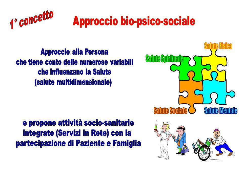 E' data da numero e gravità delle patologie (comorbilità) e da numero e gravità dei problemi sanitari (menomazioni di funzioni e strutture) associati alle patologie.