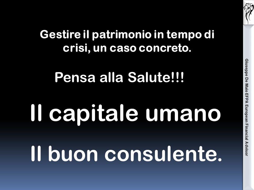 Giuseppe De Maio EFPA European Financial Advisor Fonte Il sole 24 ore del 15.10.2014