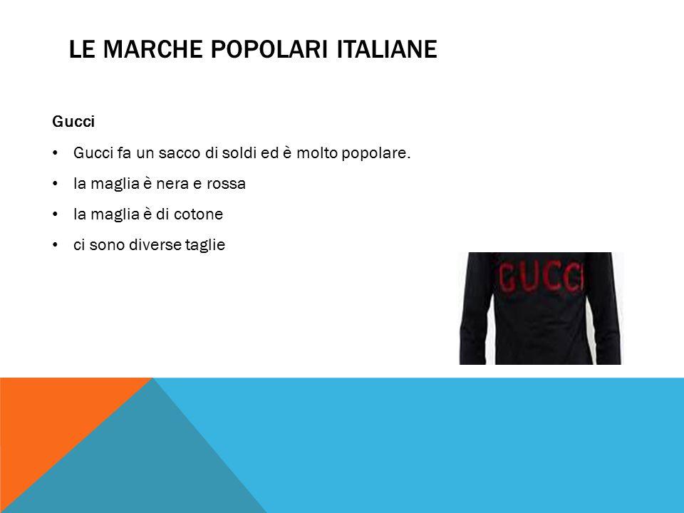 Gucci Gucci fa un sacco di soldi ed è molto popolare.