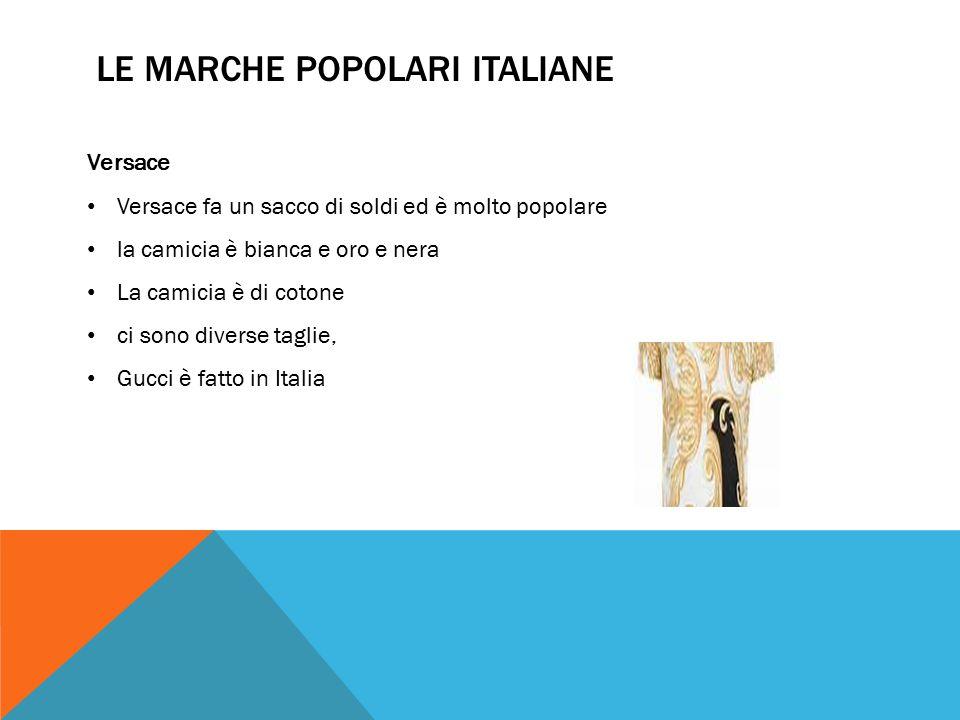 CONFRONTO TRA MARCHE Similarità – entrambe hanno maglie e pantaloncini ed entrambe le marche sono popolari in diverse nazioni.