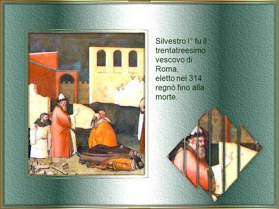 San Silvestro I°, Papa, Roma 31 dicembre 335