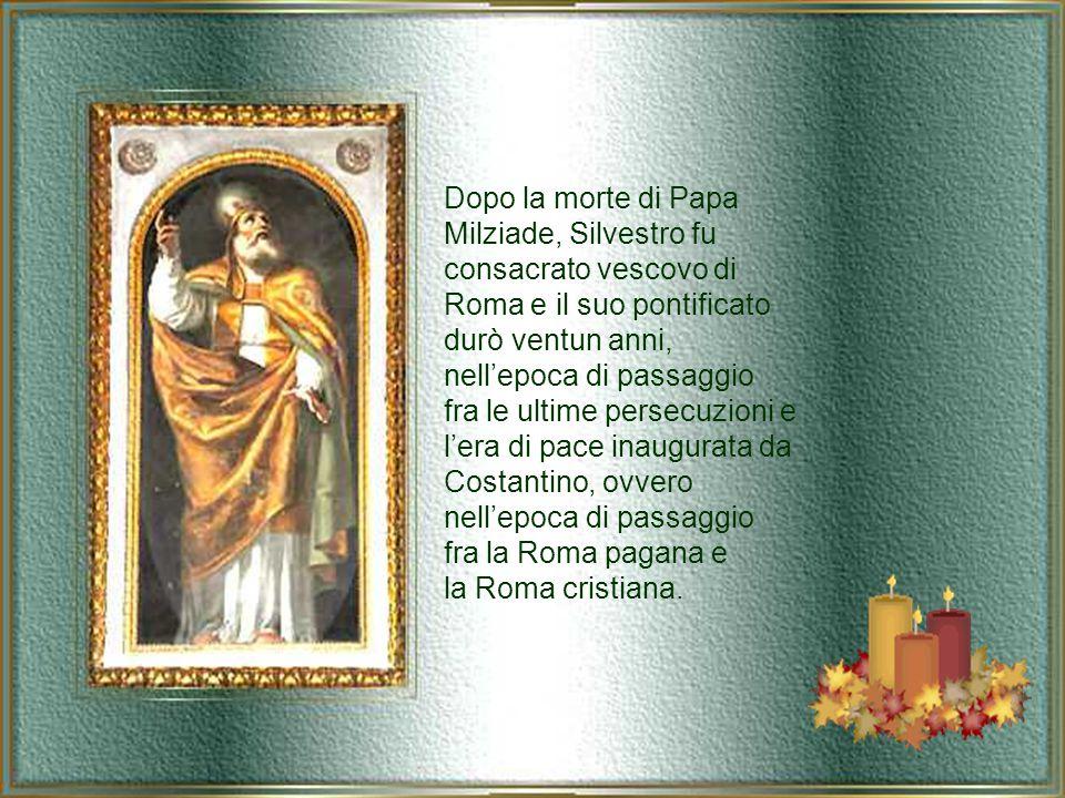 Silvestro, la cui data di nascita è ignota, era figlio di un certo Rufino, romano.