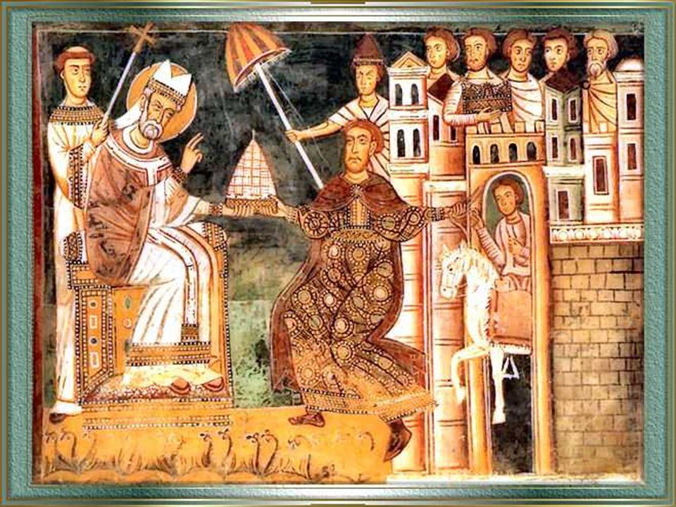 """Silvestro promosse anche la costruzione di grandi basiliche costantiniane di Roma. Secondo il """"Liber Pontificalis"""", su suggerimento del Papa, Costanti"""