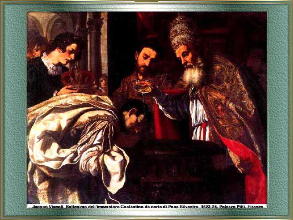 Sempre grazie al connubio fra Silvestro e l'imperatore Costantino sorsero a Roma le basiliche di S. Giovanni in Laterano, la basilica di S. Croce in G