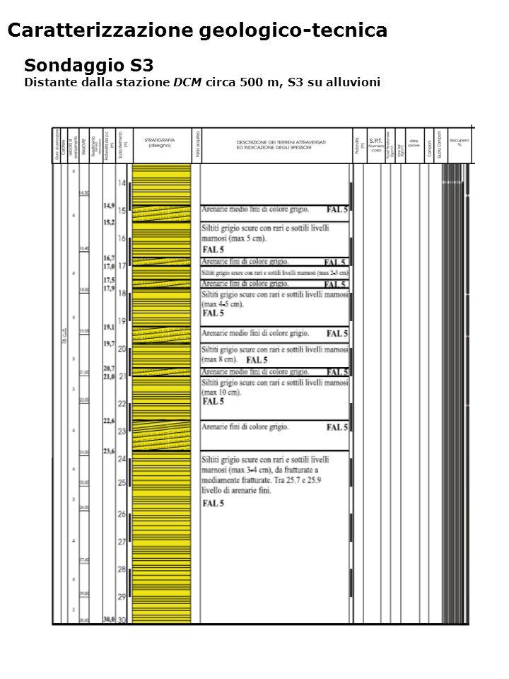 Indagini geofisiche DH3: profili Vs e Vp.