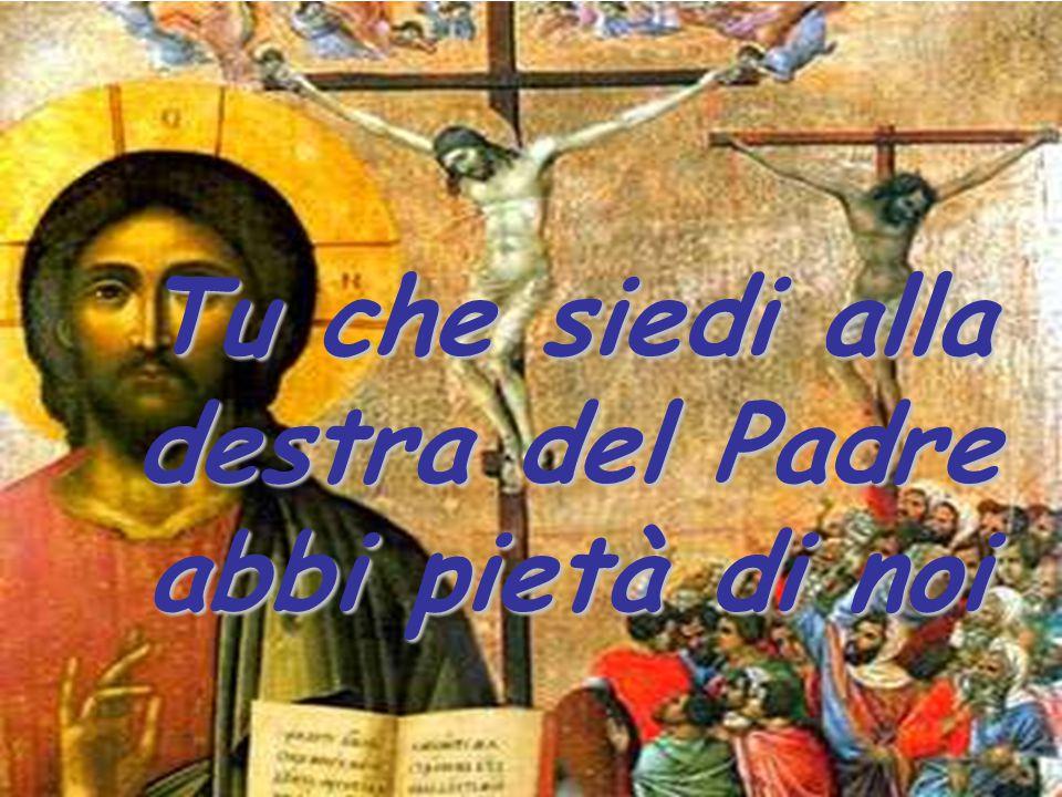 Tu che siedi alla destra del Padre abbi pietà di noi