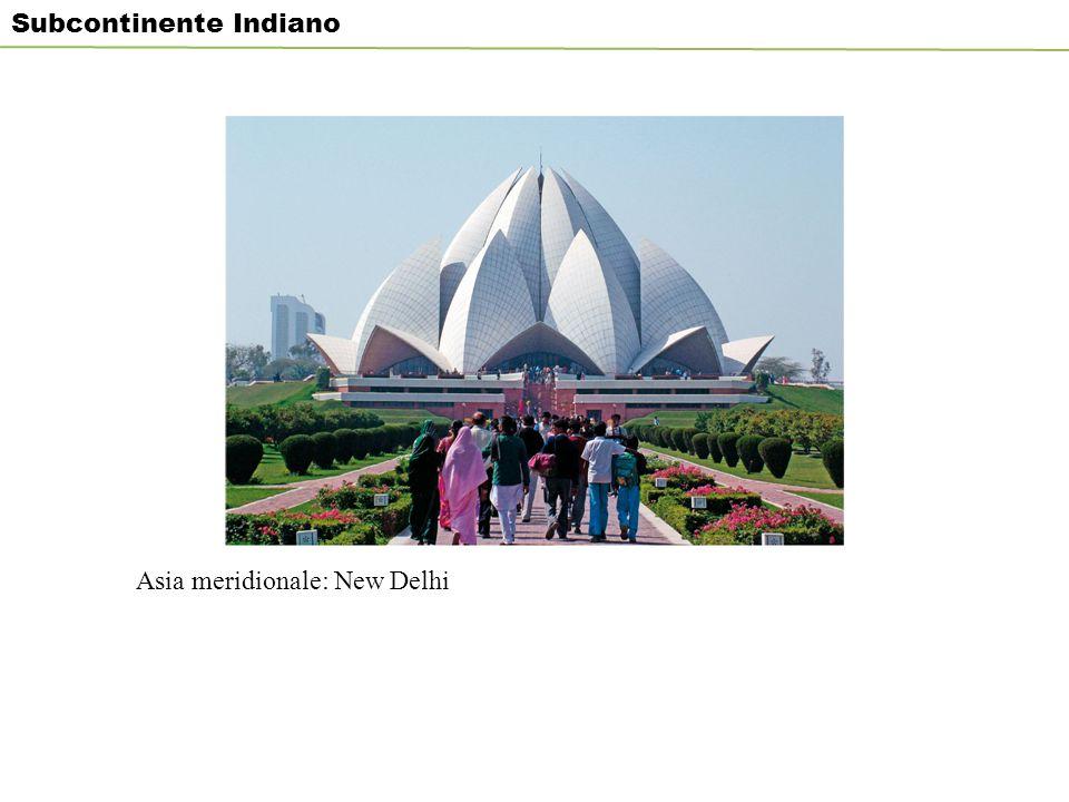 Asia meridionale: New Delhi