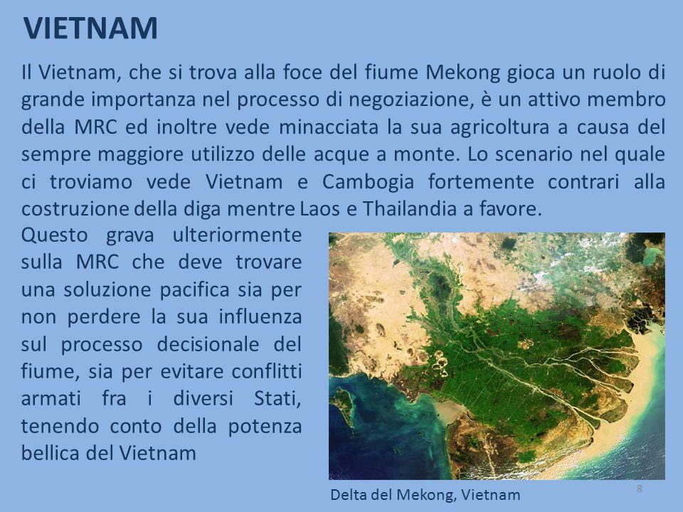 VIETNAM Questo grava ulteriormente sulla MRC che deve trovare una soluzione pacifica sia per non perdere la sua influenza sul processo decisionale del