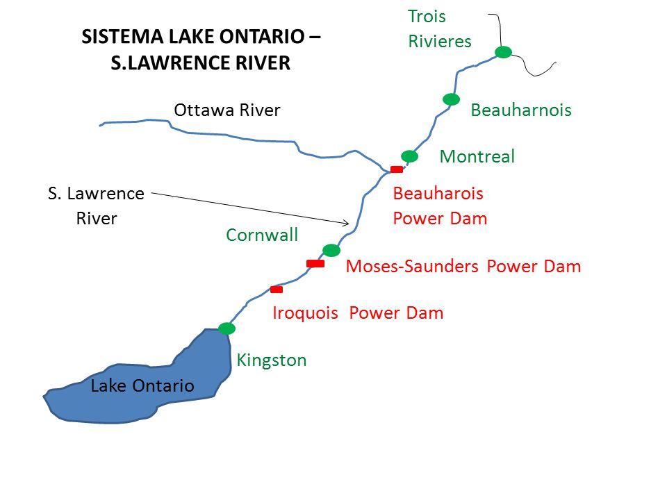 Obiettivo del progetto è revisionare il sistema di regolazione del complesso Lake Ontario - S.