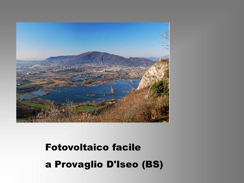 Fotovoltaico facile a Provaglio D Iseo (BS)
