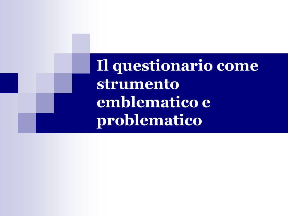 La distorsione può crearsi anche in riferimento a comportamenti socialmente approvati In Italia, è stato condotto un esperimento.