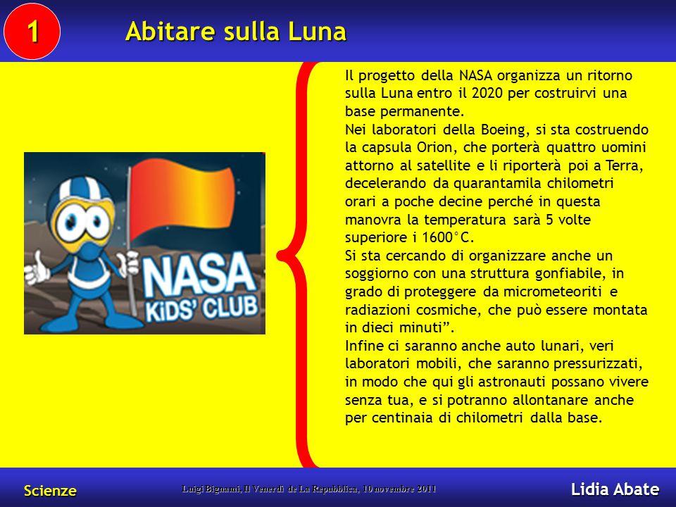 Il progetto della NASA organizza un ritorno sulla Luna entro il 2020 per costruirvi una base permanente.
