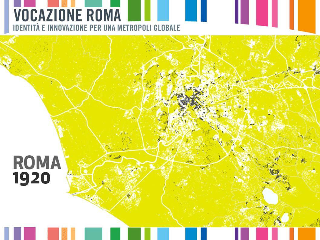 da -23 % a -1 % da 0 % a 7 % da 8 % a 15 % da 16% a 25% da 26 % a 40 % Crescita della popolazione nella cintura romana Variazione del peso sul totale 2002,2009, Regione Lazio