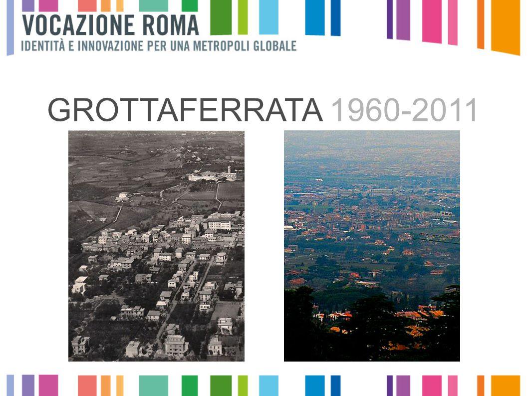 Crescita dei singoli comuni Valori assoluti, 2009, provincia di Roma da 0 a 30.000 da 30.001 a 50.000 OLTRE 50.000