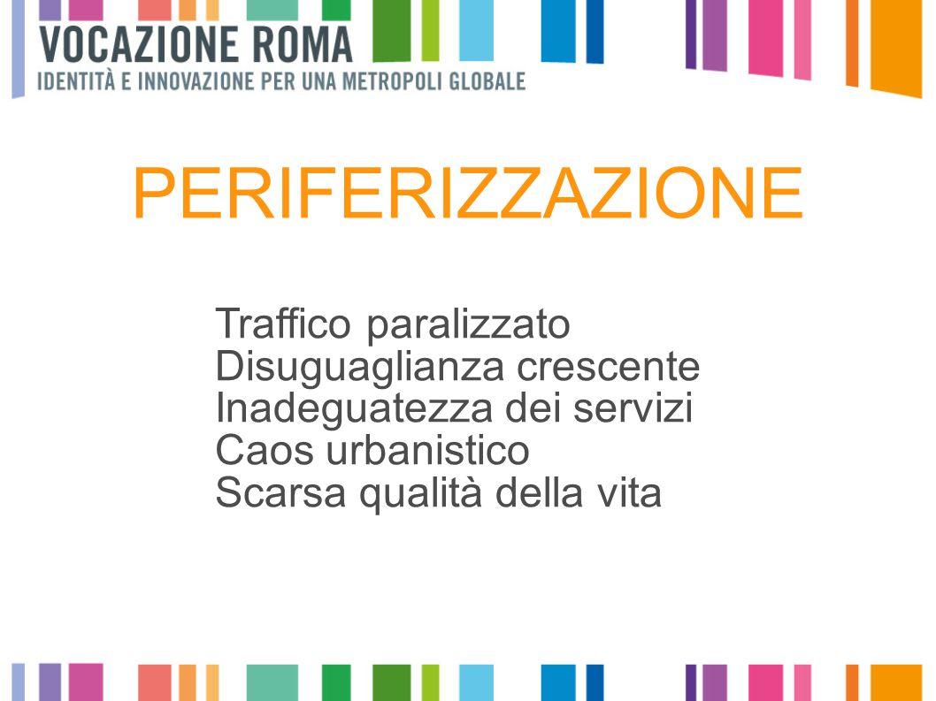 Suolo edificato 1991, provincia di Roma Suolo edificato 2006, provincia di Roma Crescita del consumo di suolo