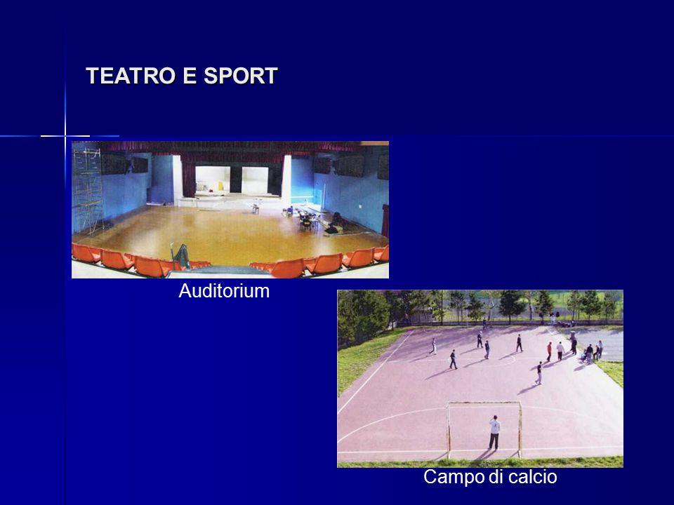 TEATRO E SPORT Auditorium Campo di calcio