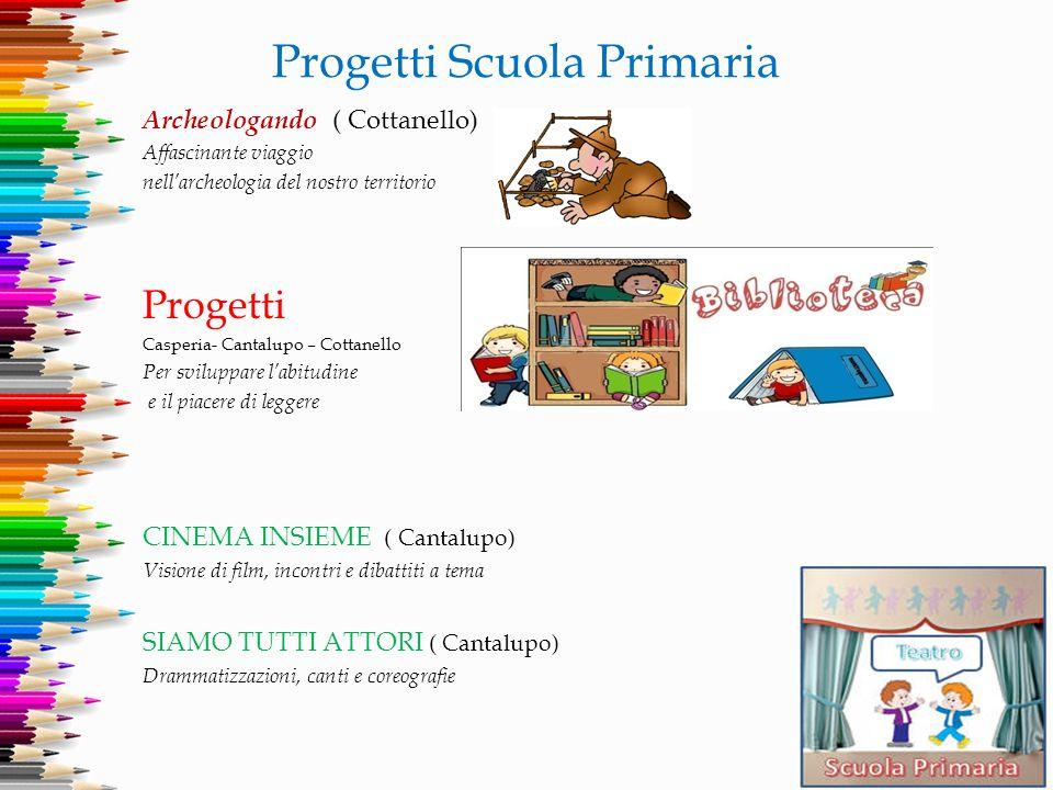 Progetti Scuola Primaria Archeologando ( Cottanello) Affascinante viaggio nell'archeologia del nostro territorio Progetti Casperia- Cantalupo – Cottan