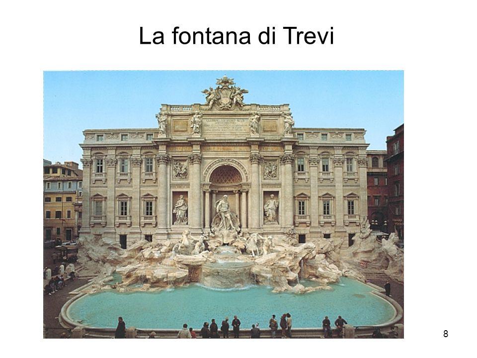 8 La fontana di Trevi