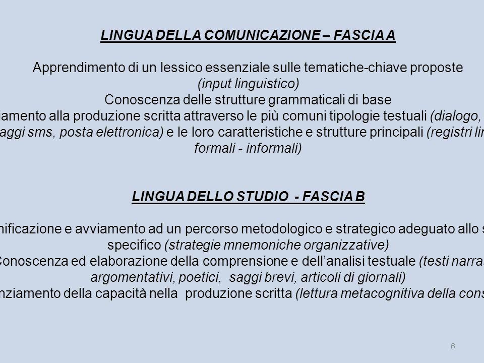 Analisi situazione in generale Le biografie degli alunni riscontrate, in questa prima fase del corso di italiano L2, sono variegate per luogo di nasci