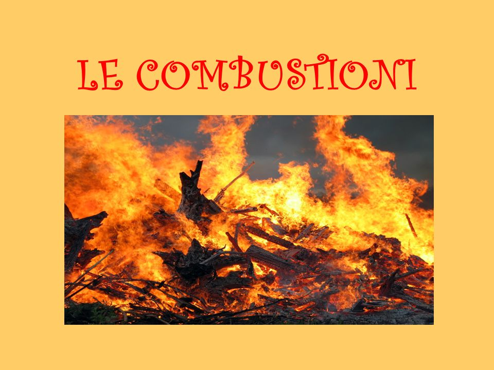 L'energia chimica è l' energia che si manifesta durante le REAZIONI CHIMICHE Reazioni che producono calore = REAZIONI ESOTERMICHE Reazioni di combustione = COMBUSTIONI Producono notevoli quantità di calore (fuoco)