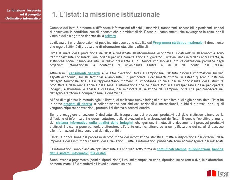 Compito dell'Istat è produrre e diffondere informazioni affidabili, imparziali, trasparenti, accessibili e pertinenti, capaci di descrivere le condizi