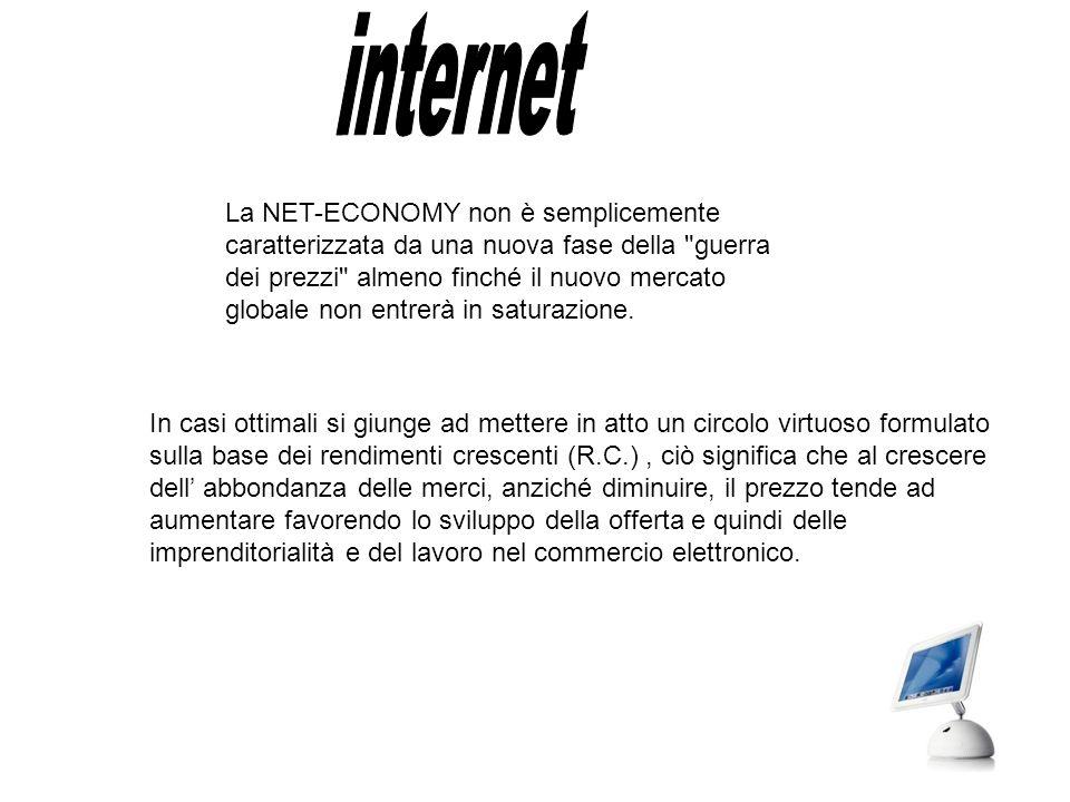 La Net Economy è il settore in cui operano le aziende che elaborano servizi e prodotti legati alle tecnologie dell'informazione e delle comunicazioni (Ict), e tutte le imprese che di questi servizi e prodotti si avvalgono.