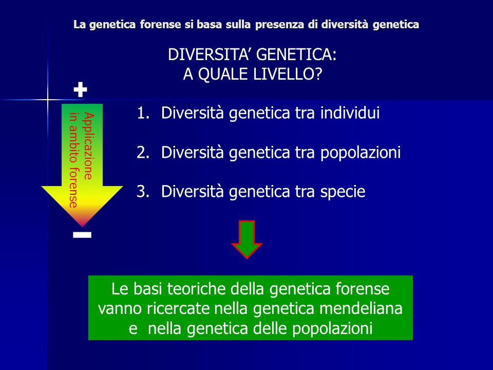 Frequenza allelica Frequenza genotipica Equilibrio di Hardy-Weinberg