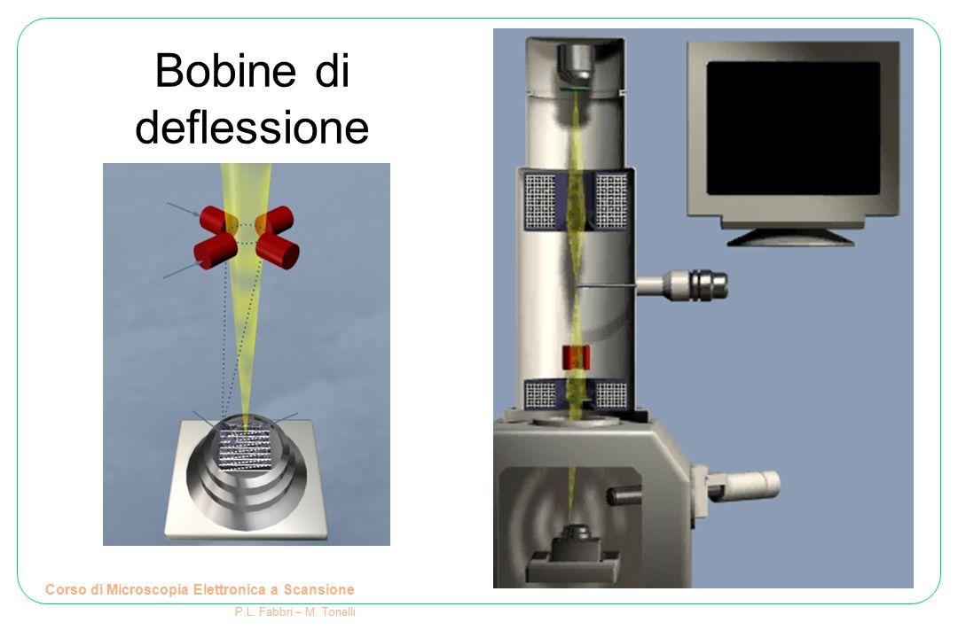 Corso di Microscopia Elettronica a Scansione P.L. Fabbri – M. Tonelli Bobine di deflessione