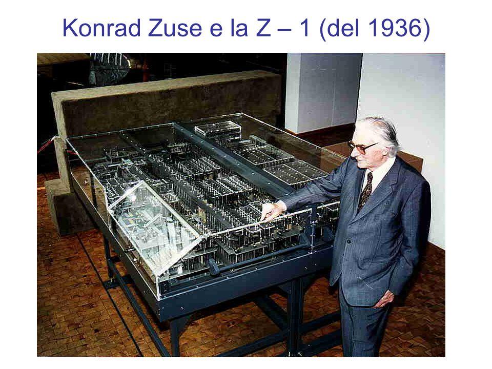 Konrad Zuse e la Z – 1 (del 1936)