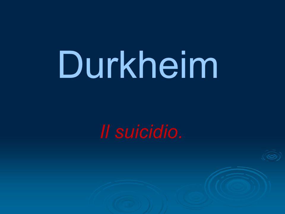 Durkheim prende in considerazione anche l'idea che esistano dei fattori extra-sociali a cui si possono attribuire le cause del suicidio: Le disposizioni organico-psichiche e La natura dell'ambiente fisico.
