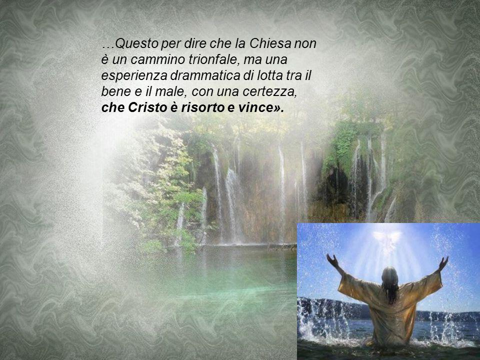 Brutto periodo... «Guardi l'avventura cristiana nasce da un tradimento e un rinnegamento. Dal tradimento di Giuda, al quale Gesù si rivolge dicendogli