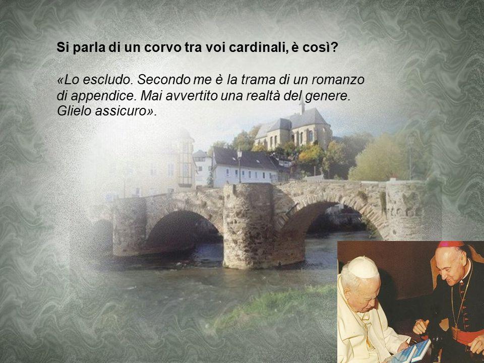 CITTA' DEL VATICANO - Angelo Comastri, arciprete della basilica di San Pietro, uno dei cardinali più vicini a Benedetto XVI, rompe il silenzio su Vati