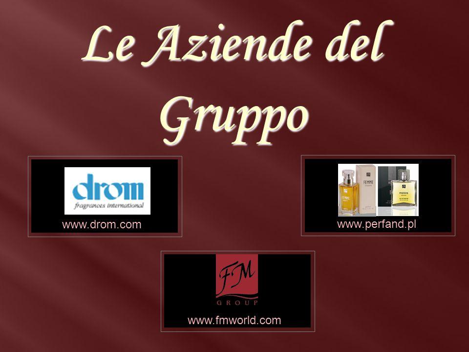www.drom.com www.perfand.pl www.drom.com www.fmworld.com Le Aziende del Gruppo