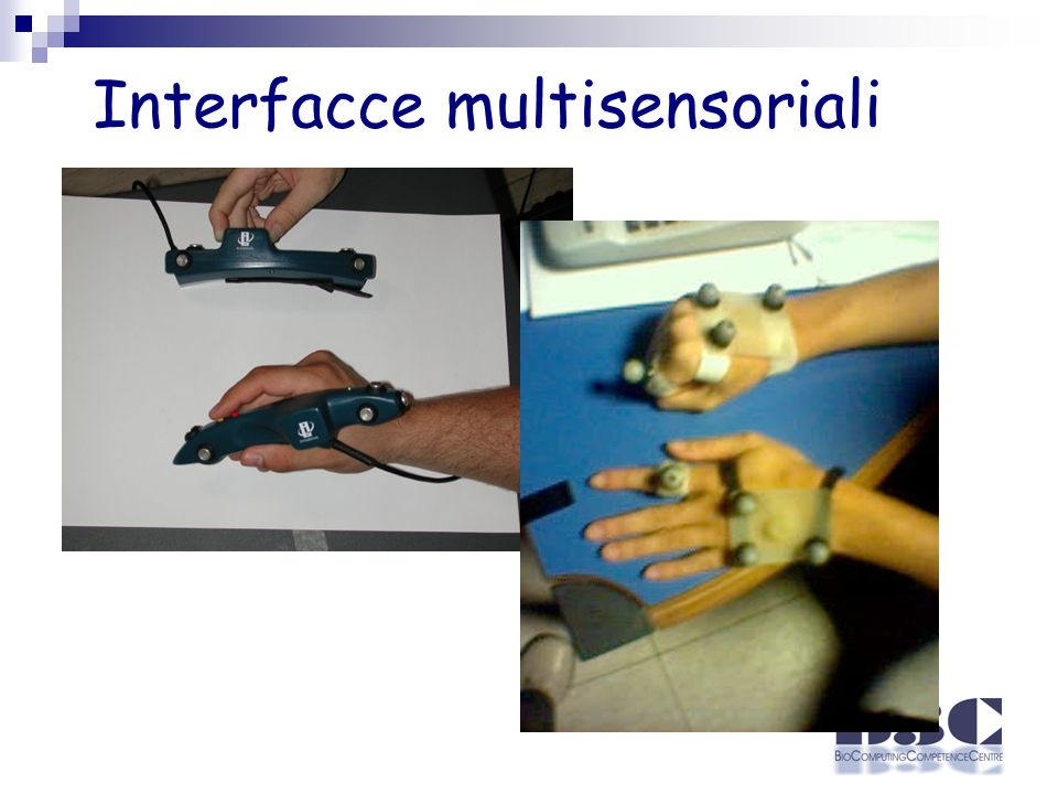 Interfacce multisensoriali
