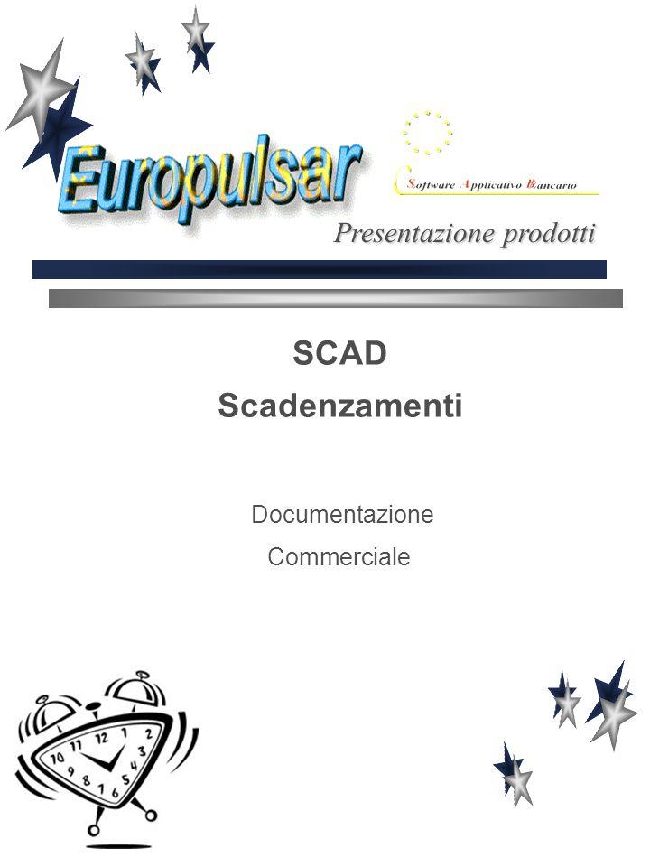 SCAD Scadenzamenti Documentazione Commerciale Presentazione prodotti