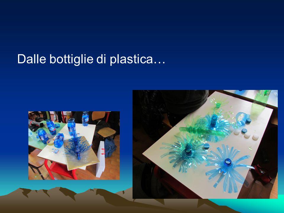 Dalle bottiglie di plastica…