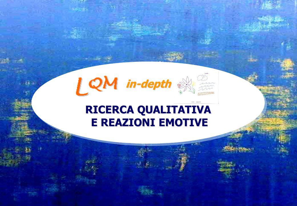 in-depth RICERCA QUALITATIVA E REAZIONI EMOTIVE E REAZIONI EMOTIVEin-depth RICERCA QUALITATIVA E REAZIONI EMOTIVE E REAZIONI EMOTIVE