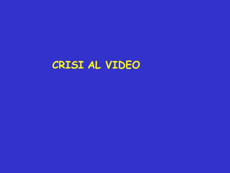 CRISI AL VIDEO