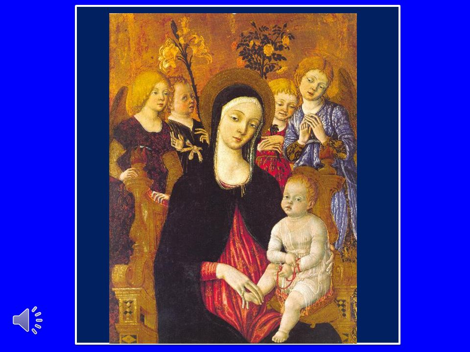 Alla Vergine Santa affidiamo tutte le vocazioni, particolarmente quelle alla vita religiosa e sacerdotale.