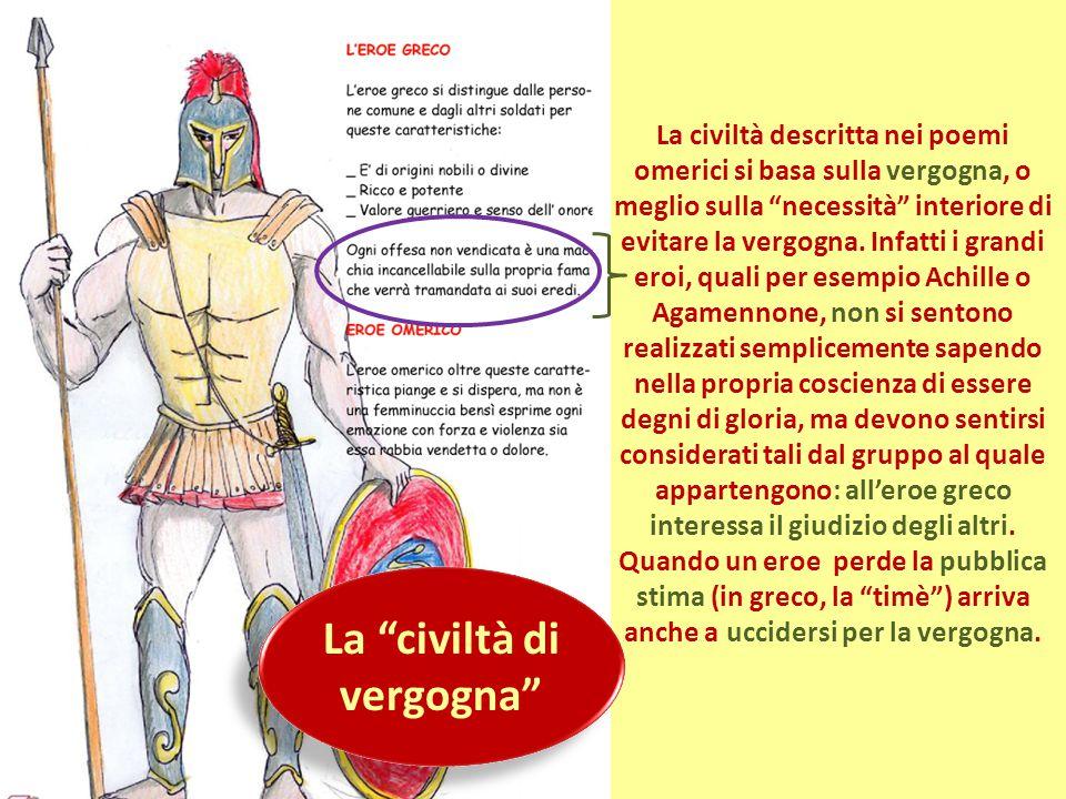 Gli dèi che appaiono nell'epica classica sono antropomorfi, hanno cioè aspetto e passioni umane.