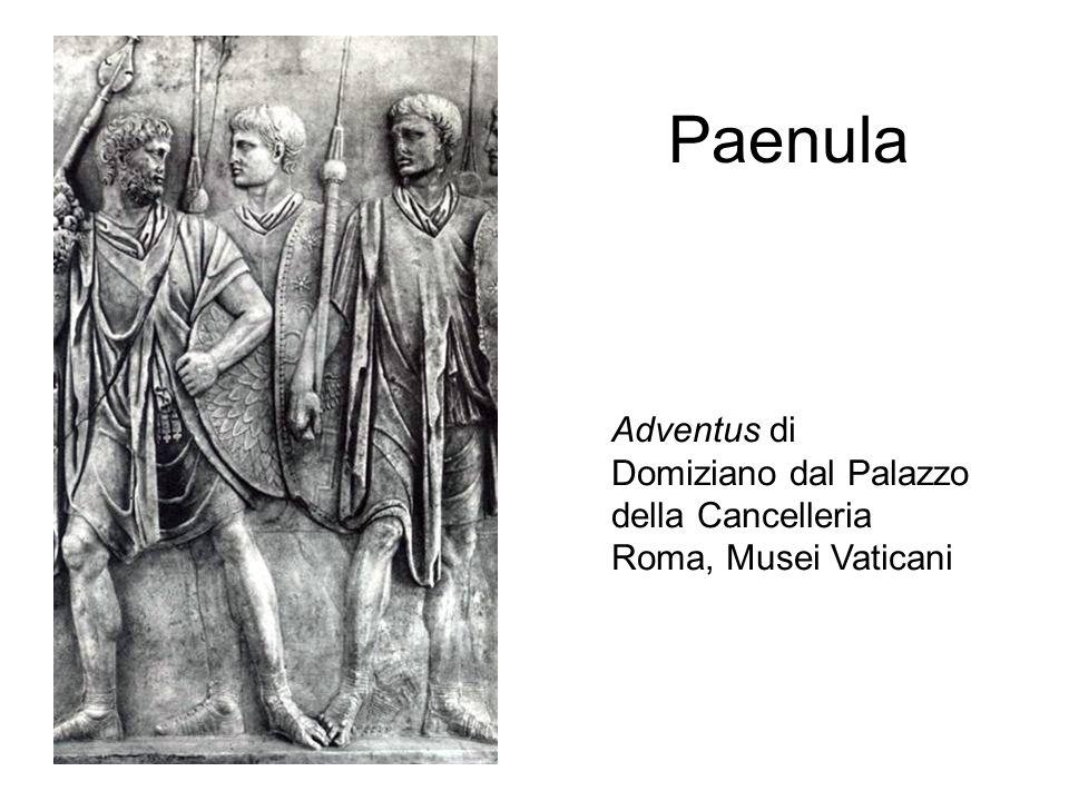 Paenula Adventus di Domiziano dal Palazzo della Cancelleria Roma, Musei Vaticani