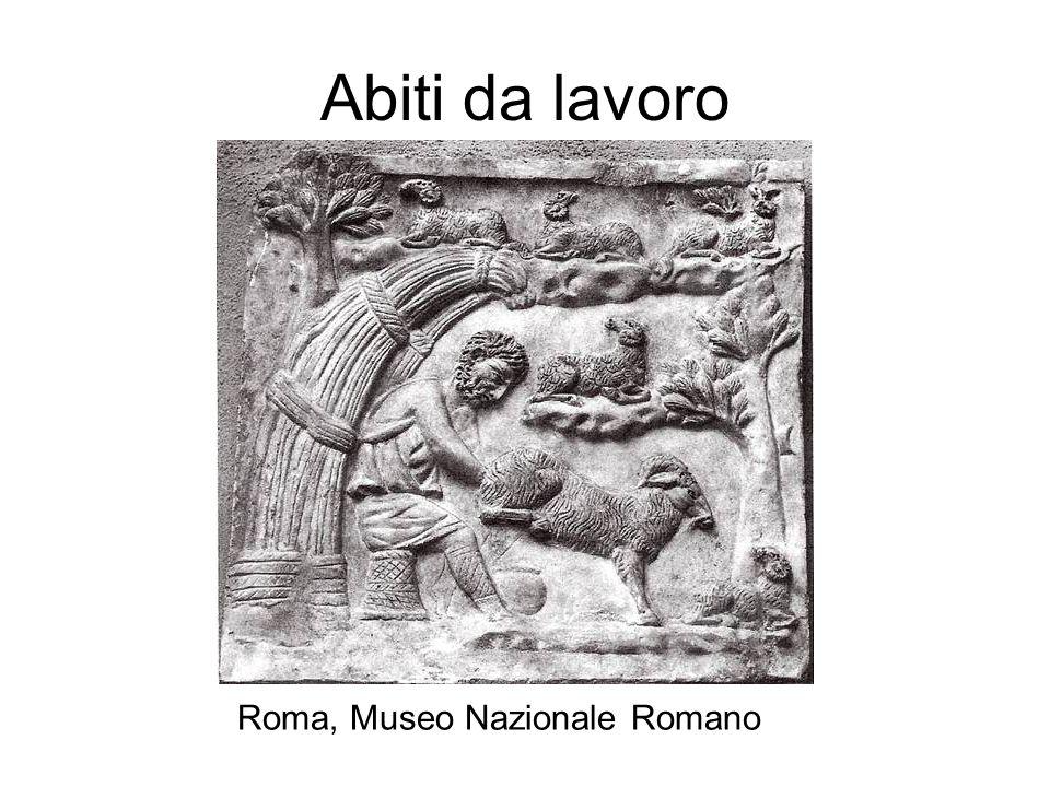 Abiti da lavoro Roma, Museo Nazionale Romano