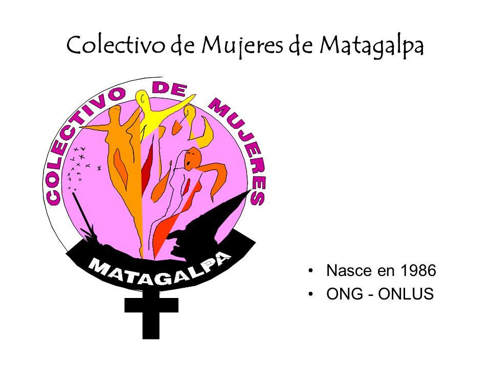 Colectivo de Mujeres de Matagalpa Nasce en 1986 ONG - ONLUS