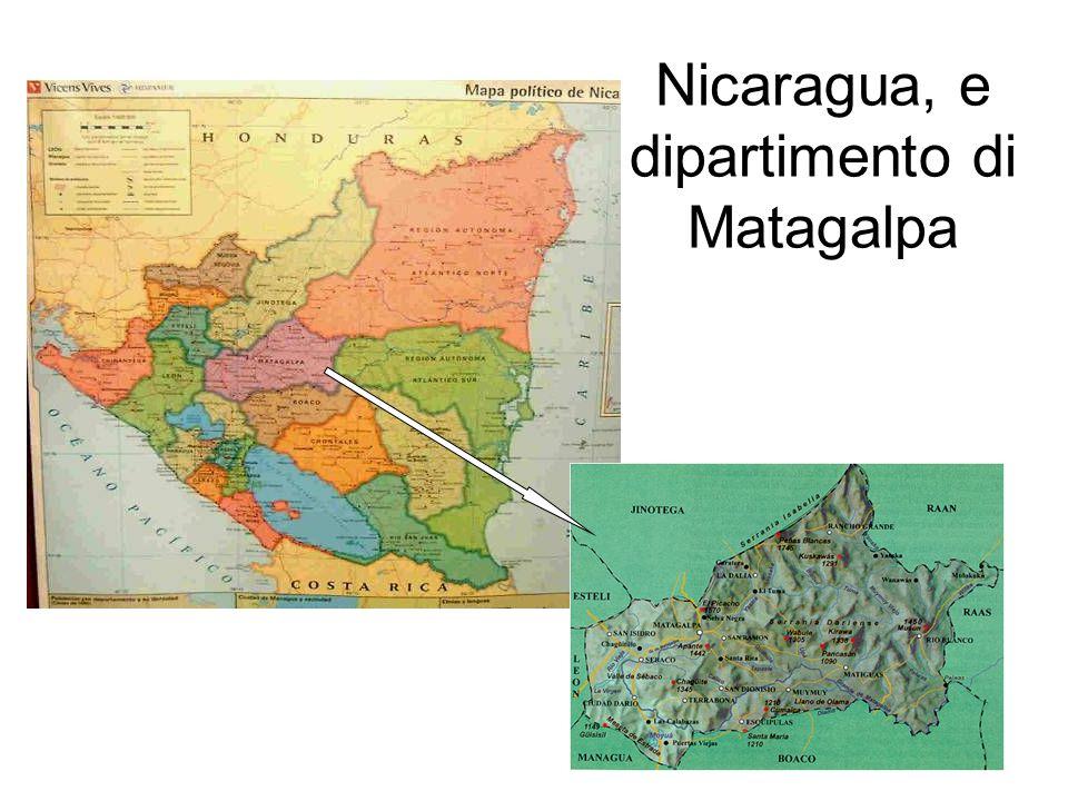 Nicaragua, e dipartimento di Matagalpa