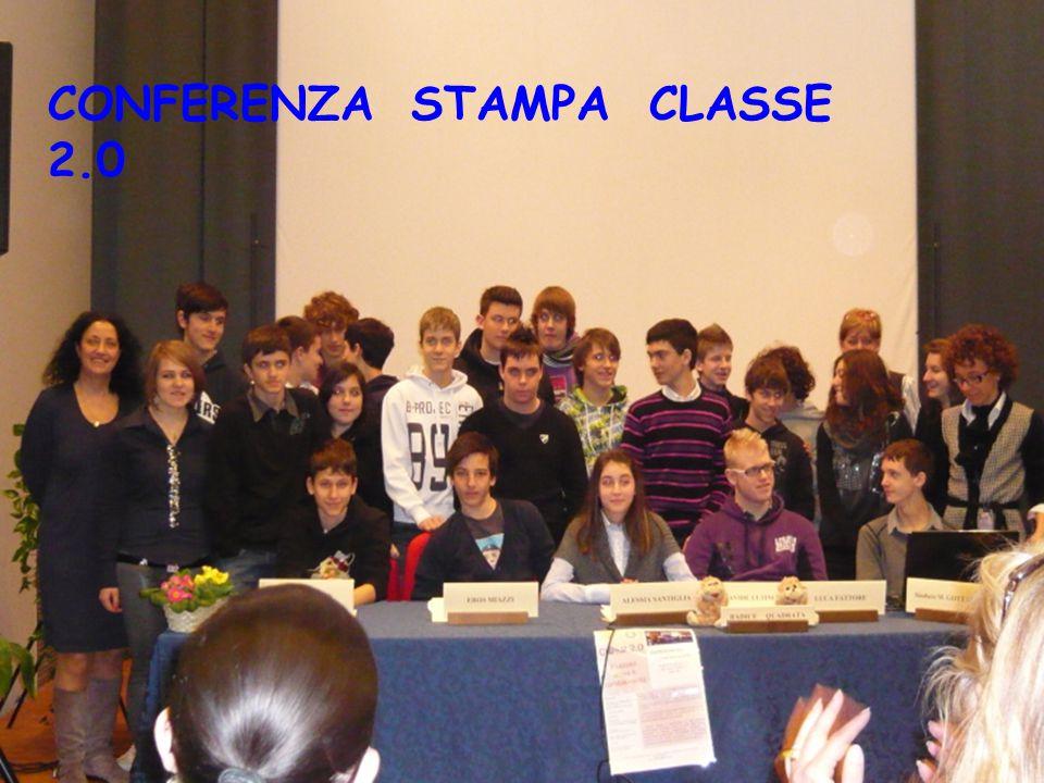 CONFERENZA STAMPA CLASSE 2.0