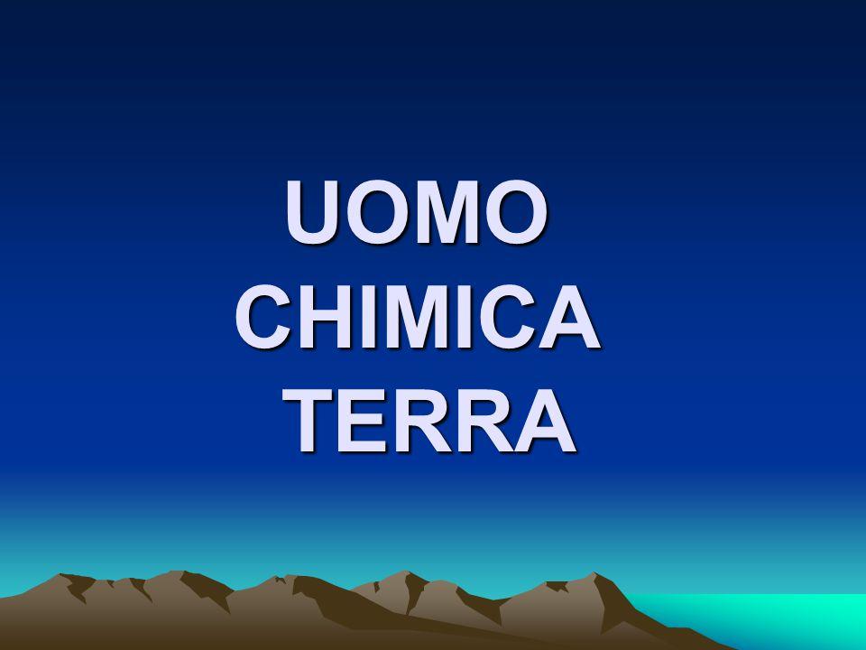 UOMO CHIMICA TERRA