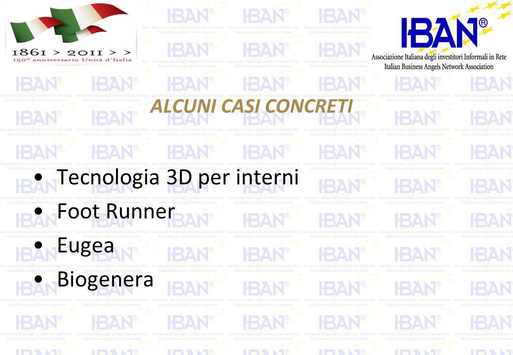 ALCUNI CASI CONCRETI Tecnologia 3D per interni Foot Runner Eugea Biogenera